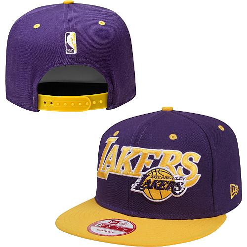 4af98970b45f8 Snapback do time de basquete Los Angeles Lakers da New Era