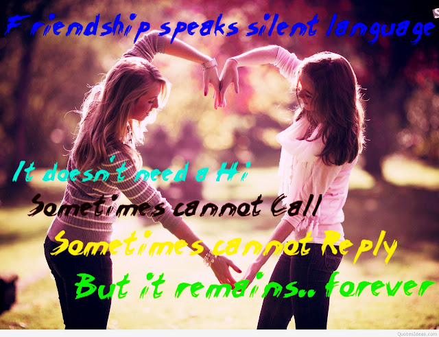 Friendship day quotations with images