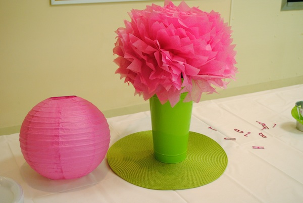 Pink And Green Baby Shower Decorations | Best Baby Decoration