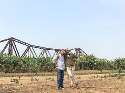 Fixer in Vietnam Andy Nugyen and Laith Bazari