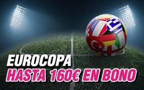 wanabet consigue 160 euros apuesta Eurocopa 2016  10-22 junio