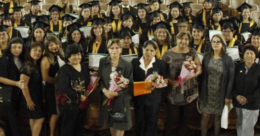 MINEDU: Más de 100 profesionales culminan segunda especialidad para atender a niños con discapacidad - www.minedu.gob.pe