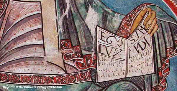 Pantocrátor de San Clemente de Tahull (s. XII) vía romanicoaragonés.com
