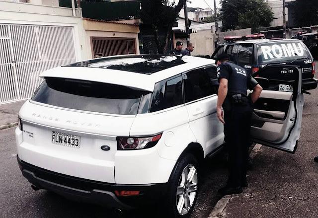 ROMO da GCM de Santo Andre´localiza veículo produto de roubo pela Avenida Prestes Maia