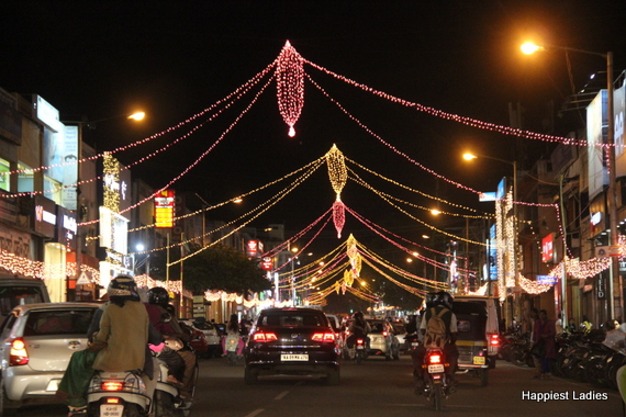 Mysore Dasara Street Lightings10