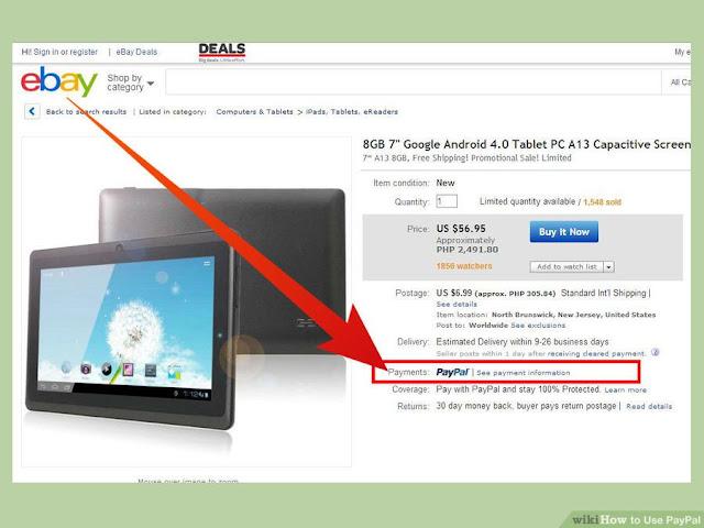 PAypal adalah online payment