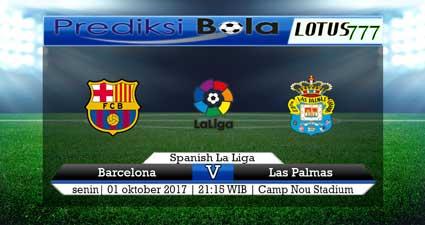 Prediksi pertandingan Barcelona Vs Las Palmas 01 Oktober 2017
