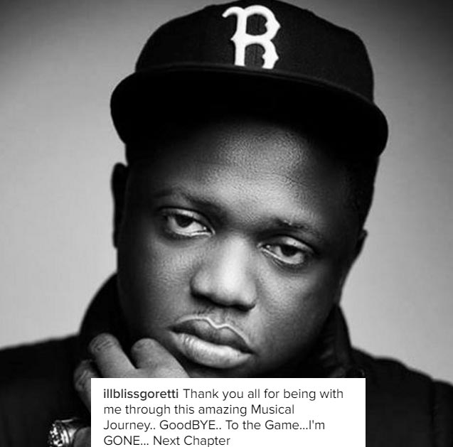Rapper IllBliss aka Oga Boss quits