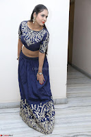 Ruchi Pandey in Blue Embrodiery Choli ghagra at Idem Deyyam music launch ~ Celebrities Exclusive Galleries 029.JPG