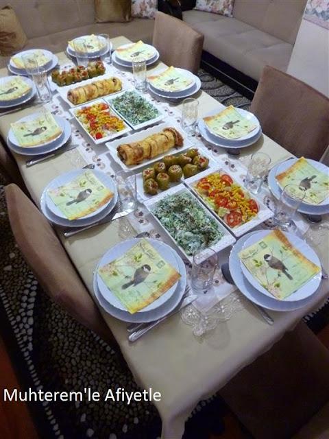 Ramazan iftar masası
