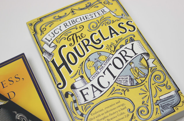 A picture of The Hourglass Factory by Lucy Ribchester