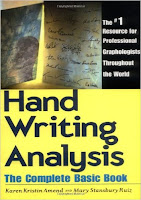 http://www.amazon.com/Handwriting-Analysis-Complete-Basic-Book/dp/087877050X/ref=sr_1_1?ie=UTF8&qid=1460415527&sr=8-1&keywords=handwriting+analysis+karen+amend