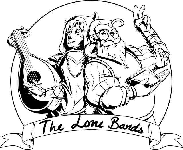 The Lone Bards Logo