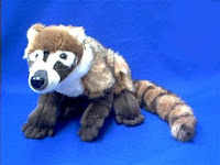 Coatamundi plush stuffed animal toy