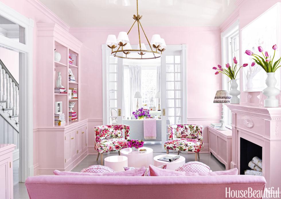 Decor Pink Decorating Ideas Ultra Feminine Virginia