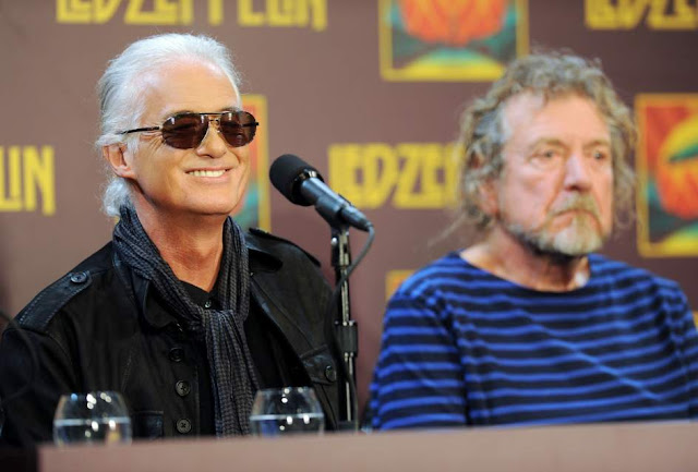 Jimmy Page y Robert Plant (Led Zeppelin)