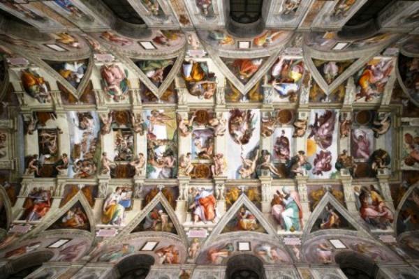 Vatican Museums - Capella Sistina Ceiling