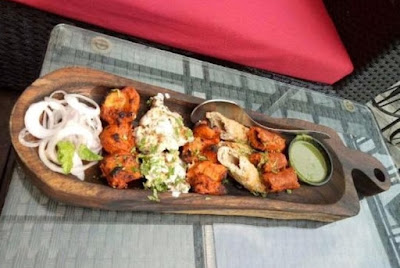 Tandoori Platter by Mama's Buoi Lounge, Hudson Lane, Gtb Nagar Delhi