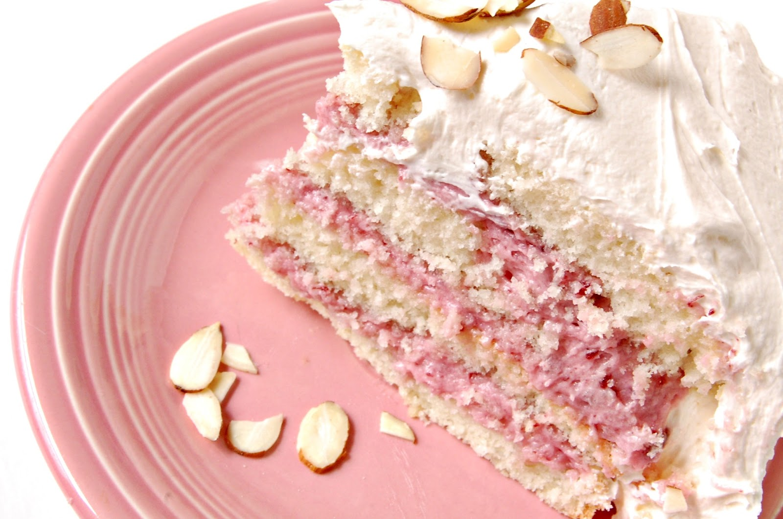 Cake Filling Recipes Without Icing Sugar: Beta Vegan: Almond Cake With Cherry Buttercream Filling