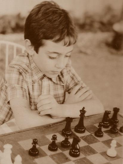 El ajedrecista Daniel Travesset i Ribera en 1982