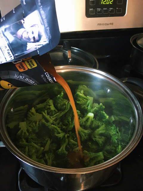 Cooking fast and healthy