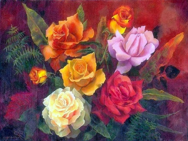 Pretty Pictures Of Flowers To Paint