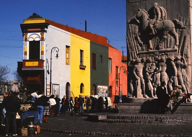 Barrio de La Boca. Foto Rodrigo L. Alonso