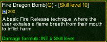 naruto castle defense 6.0 Fire Dragon Bomb detail