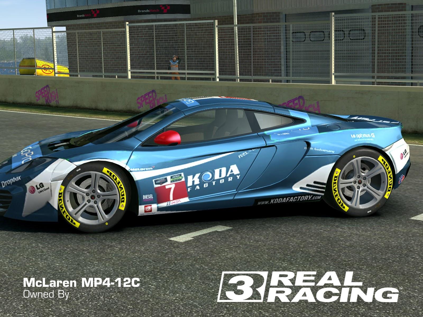 2013 mclaren mp412c mclaren mp412c go pro koda by real racing 3 skins designs