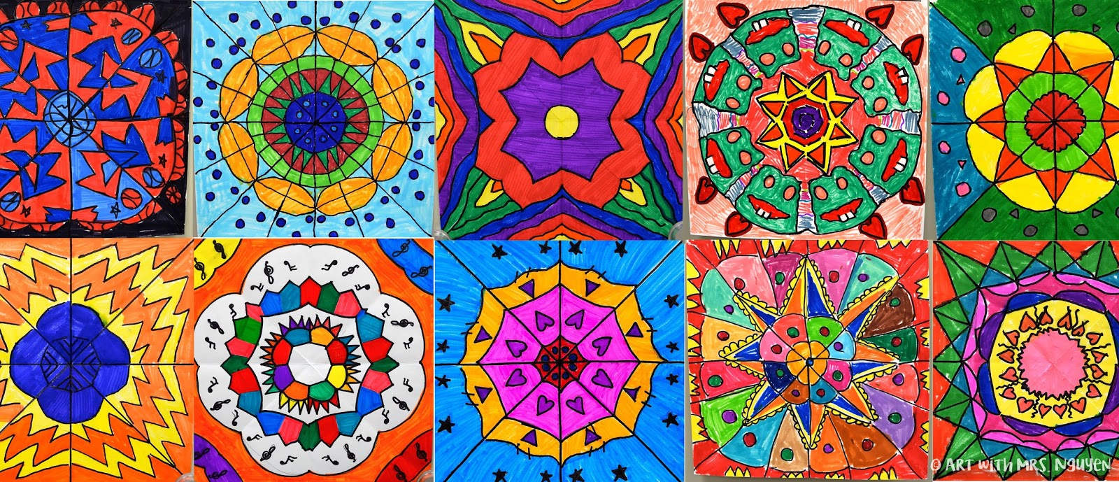 newest 89475 21c06 Marker Mandalas (4th) | Art with Mrs. Nguyen