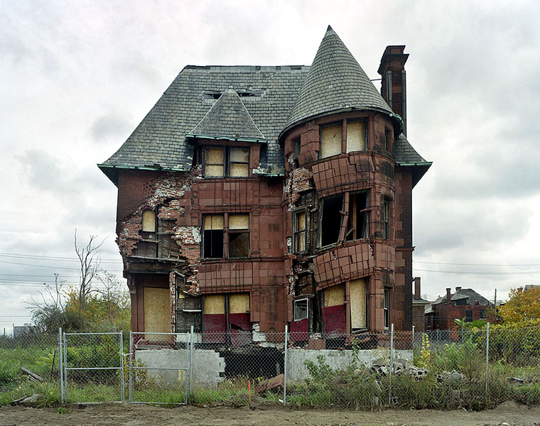Deserted Places Detroit A City In Decay