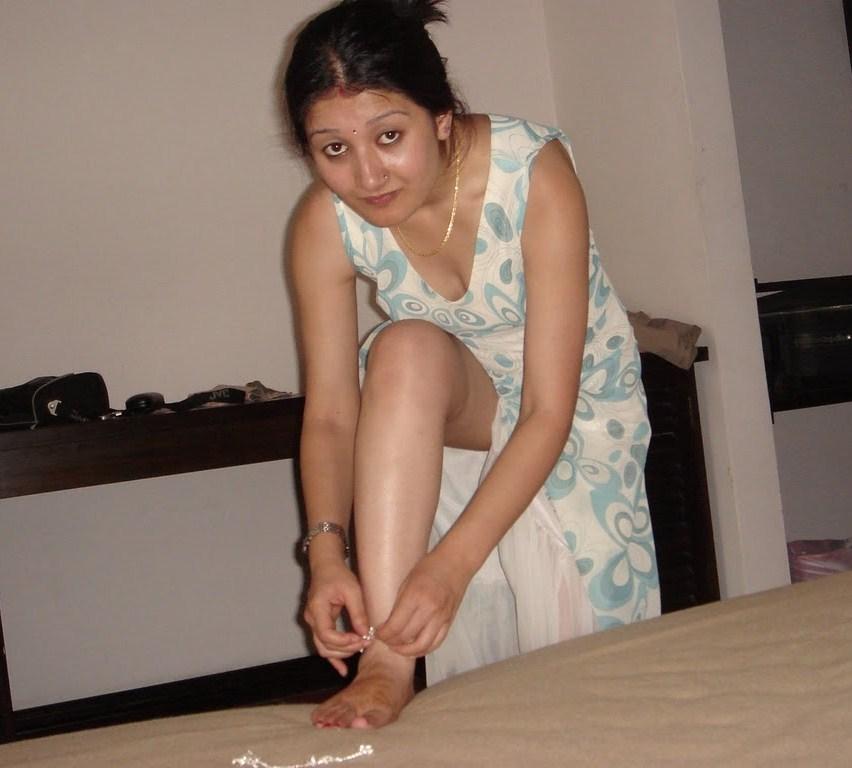 Ebony Stocking Feet 12