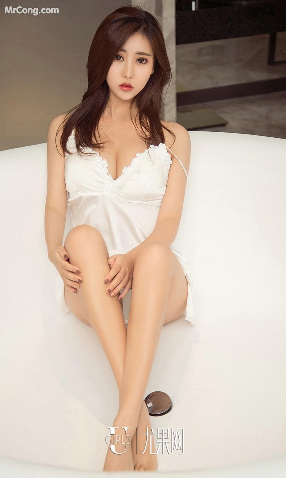 Image UGIRLS-Ai-You-Wu-App-No.1136-Chen-Mei-Xi-MrCong.com-003 in post UGIRLS – Ai You Wu App No.1136: Người mẫu Chen Mei Xi (陈美熙) (35 ảnh)