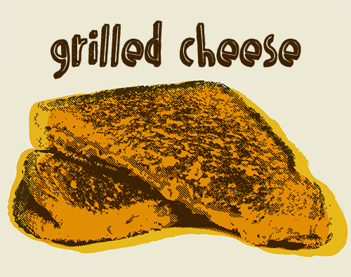 grilled-cheese-illustration, grilled-cheese-graphic