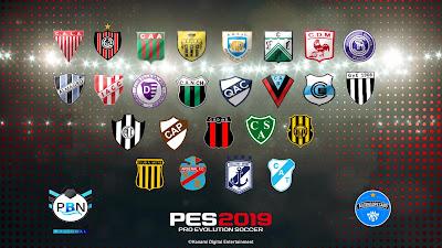 PES 2019 PS4 Option File Primera B Nacional Argentina Season 2018/2019