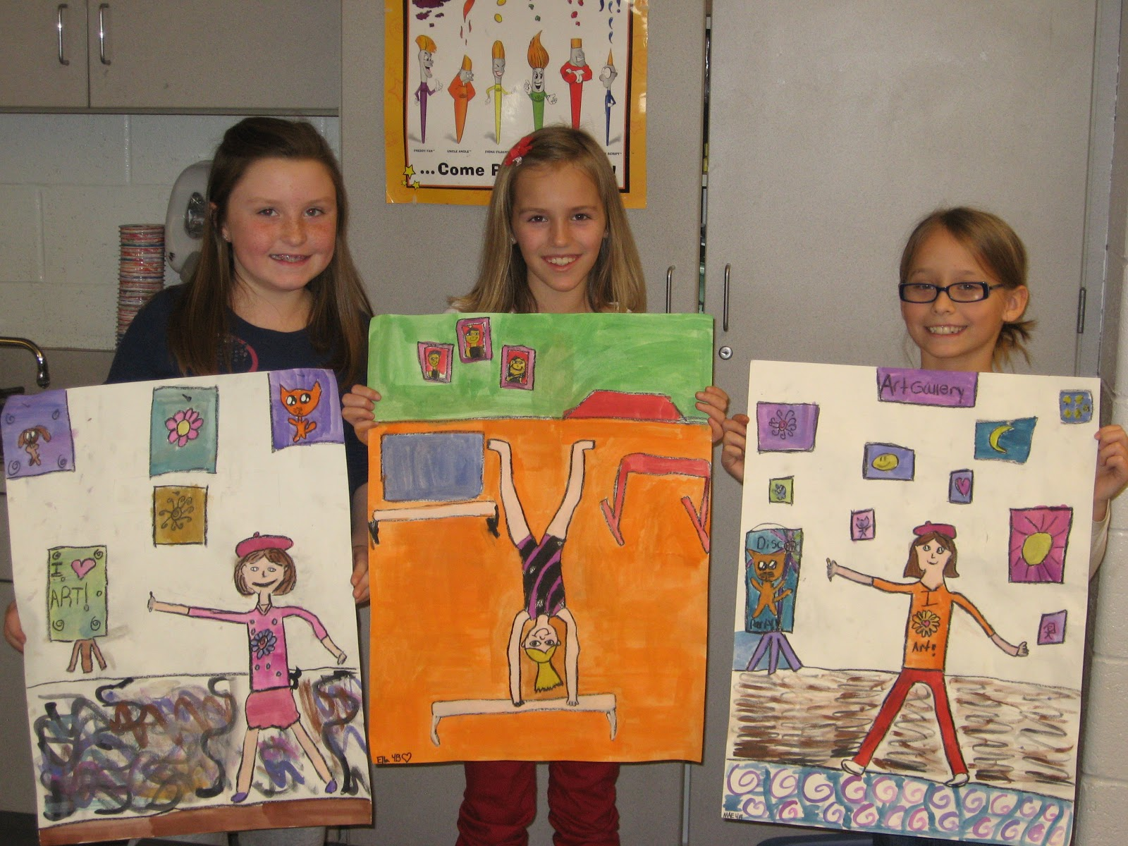 Jamestown Elementary Art Blog 4th Grade Edgar Degas Figure Drawing