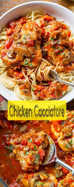 Chicken Cacciatore Think Food