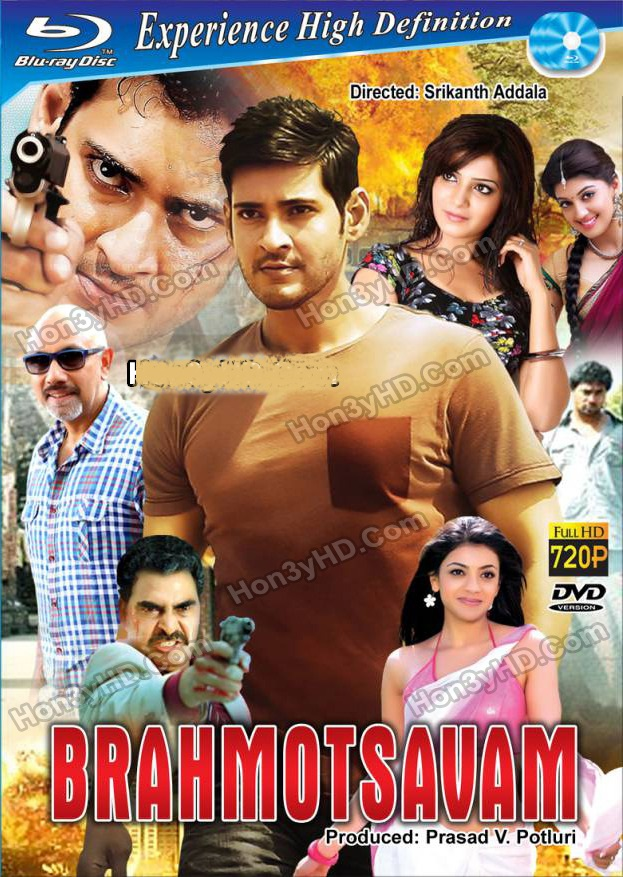 Brahmotsavam (2016) Dual Audio 720p UNCUT HDRip x264 [Hindi – Telugu] ESubs