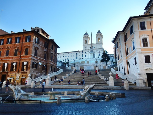 Centro Storico And Spanish Steps , Spanish Steps,  Rome, Italy, Rome Italy, Roman Architecture, Architecture,