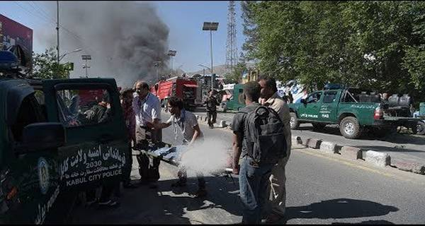 Afghanistan Massive Car Bomb Blast Near Diplomatic Zone