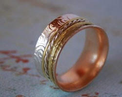 Make jewelry in spinner ring jewelry class