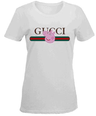 Peppa Pig Gucci T Shirt Hoodie Sweatshirt Tank Top