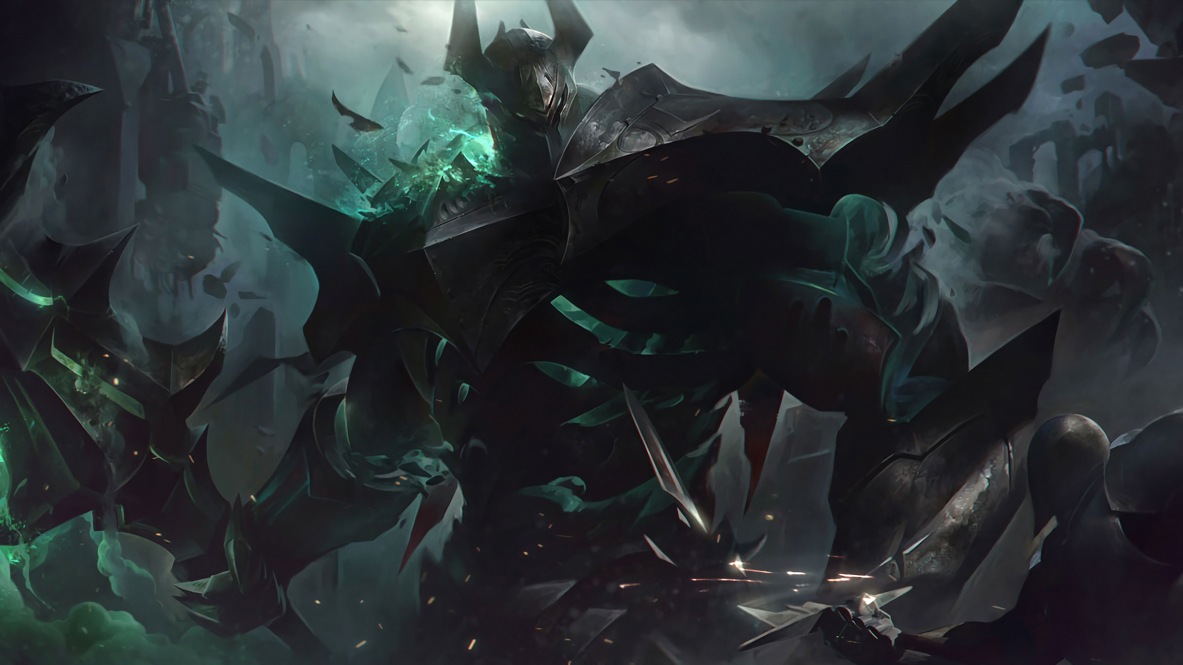 Mordekaiser New Splash Art Lol 4k Wallpaper 96