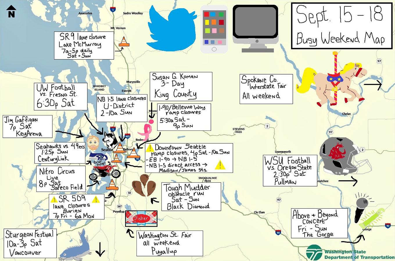 405 Traffic Map.The Wsdot Blog Washington State Department Of Transportation How