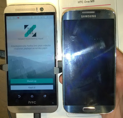 HTC ve Samsung