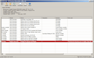 PCI-Z Screenshot