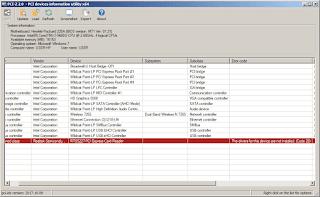 PCI-Z Screenshot