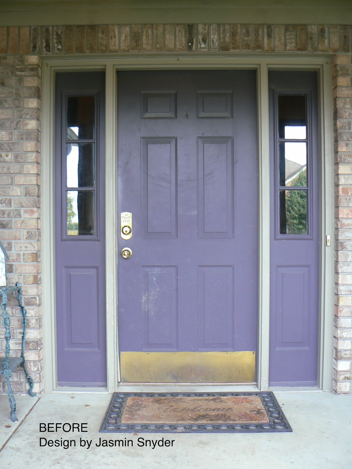 Front Door Makeover Little House Design