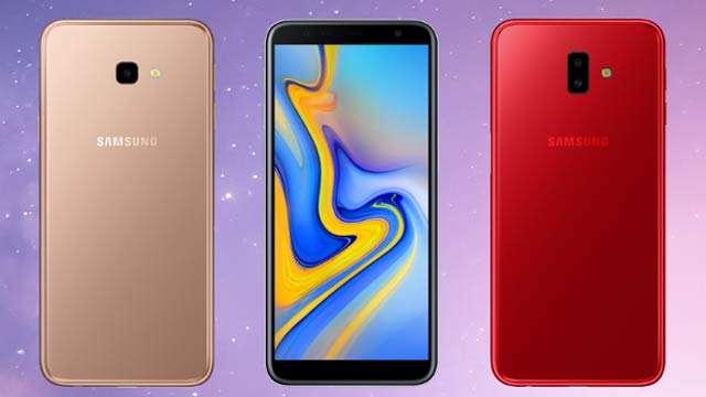 Galaxy J4 + and Galaxy J6 +
