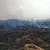 कवर की नांगल में पहाड़ी क्षेत्र में लगी आग, ढाई घण्टे बाद पाया आग पर काबू